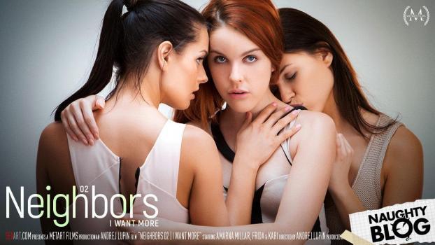 Sex Art - Amarna Miller, Frida & Kari A