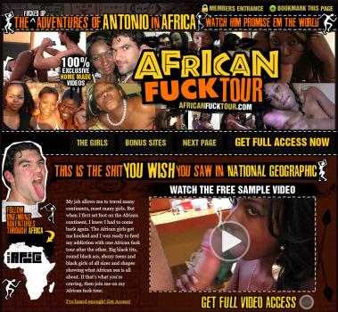 AfricanFuckTour (SiteRip) Image Cover