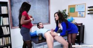 Ariella Ferrera & Diamond Jackson & Bambino in My First Sex Teacher 4K UltraHD (2160p)