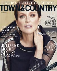Julianne Moore - Town & Country Magazine Oct 2018