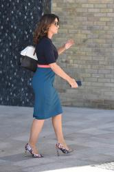 Susanna Reid @ ITV Studios in London 13th September 2018