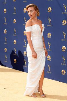 Scarlett Johansson at the 70th Primetime Emmy Awards in Los Angeles - 9/17/18