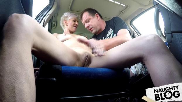 Czech Bitch - Mature anal whore