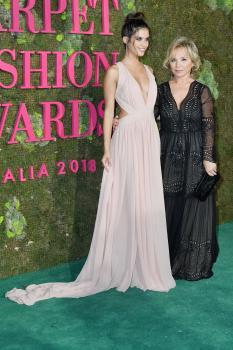Sara Sampaio - Green Carpet Fashion Awards in Milan 9/23/18