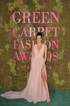 Sara Sampaio - Green Carpet Fashion Awards in Milan 9/23/18