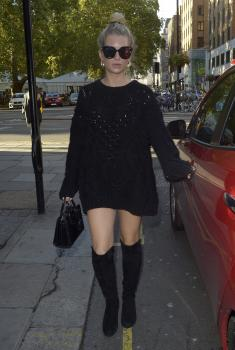Lottie Moss at Sexy Fish in London 9/23/18