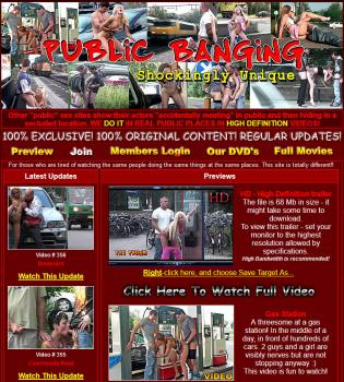 PublicBanging (SiteRip)