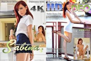 FTV Girls - Schoolgirl Style - Sabina - 4K Dildo UltraHD 2160p
