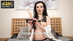 Wank it now - Harsh Punishment:Pt2 - Faye - 4K UltraHD 2160p