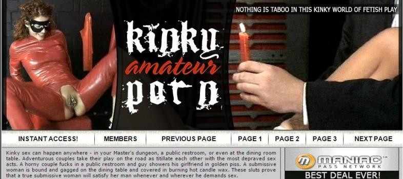 KinkyAmateurPorn (SiteRip) Image Cover