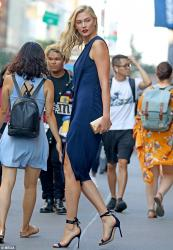 Karlie Kloss - Out in NYC 9/5/18